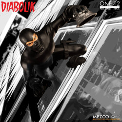 DIABOLIK ONE:12 ACTION FIGURE