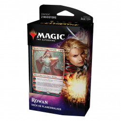 MAGIC THE GATHERING TRONE D'ELDRAINE DECK DE PLANESWALKER ROWAN VERSION FRANCAIS
