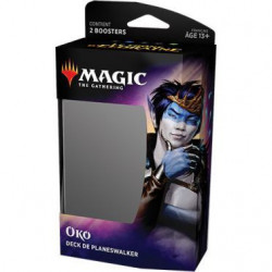 MAGIC THE GATHERING TRONE D'ELDRAINE DECK DE PLANESWALKER OKO VERSION FRANCAIS