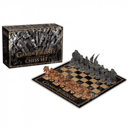 COLLECTOR'S CHESS SET GAME OF THRONES