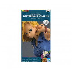ANDROID 18 GLITTER & GLAMOURS DRAGONBALL PVC STATUE