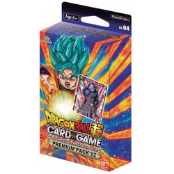 DRAGON BALL PREMIUM PACK 02 CARD GAME