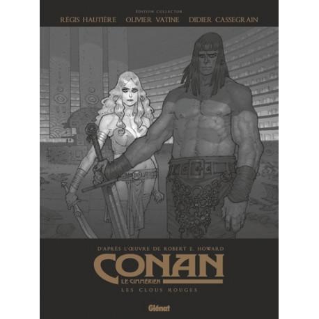 CONAN LE CIMMERIEN - LES CLOUS ROUGES N&B - EDITION SPECIALE NOIR & BLANC