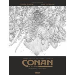 CONAN LE CIMMERIEN - LE PEUPLE DU CERCLE NOIR N&B - EDITION SPECIALE NOIR & BLANC