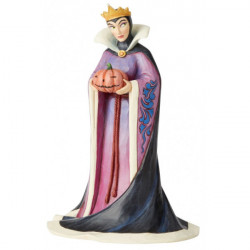 DISNEY TRADITIONS EVIL QUEEN POISON PUMKIN STATUE
