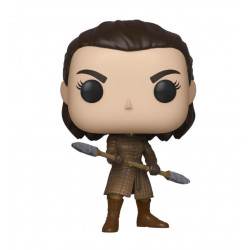 ARYA WITH TWO HEADED SPEAR GAME OF THRONES POP! TV VINYL FIGURE