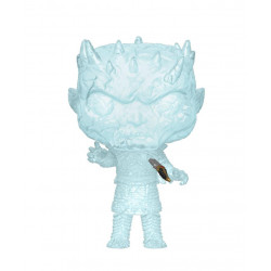 CRYSTAL NIGHT KING W/DAGGER IN CHEST GAME OF THRONES POP! TV VINYL FIGURE