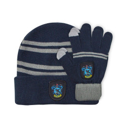 BEANIE AND GLOVES FOR KIDS RAVENCLAW HARRY POTTER
