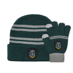 BEANIE AND GLOVES FOR KIDS SLYTHERIN HARRY POTTER