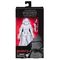 FIRST ORDER ELITE SNOWTROOPER STAR WARS EPISODE IX BLACK SERIES FIGURINE EXCLUSIVE 15 CM
