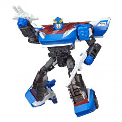 SMOKESCREEN DELUXE CLASS TRANFORMERS WAR FOR CYBERTRON ACTION FIGURE