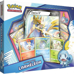COFFRET POKEMON COLLECTION GALAR - LARMELEON ET ZACIAN