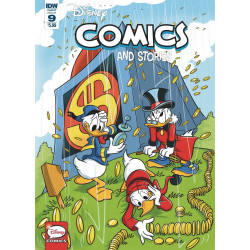 DISNEY COMICS AND STORIES 9 CVR A MAZZARELLO