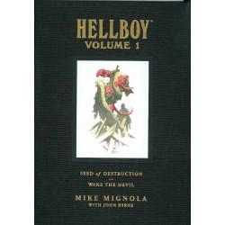 HELLBOY LIBRARY HC VOL 1 SEED DESTRUCTION DEVIL