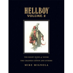 HELLBOY LIBRARY HC VOL 2 CHAINED COFFIN NEW PTG