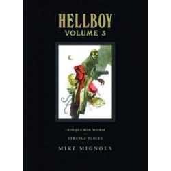 HELLBOY LIBRARY HC VOL 3 CONQUEROR WORM