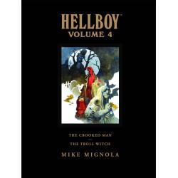 HELLBOY LIBRARY HC VOL 4 CROOKED MAN