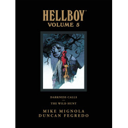 HELLBOY LIBRARY HC VOL 5 DARKNESS CALLS WILD HUNT