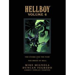 HELLBOY LIBRARY HC VOL 6 STORM FURY BRIDE HELL