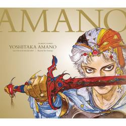 YOSHITAKA AMANO THE ILLUSTRATED BIOGRAPHY HC BEYOND THE FANTASY