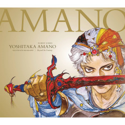 YOSHITAKA AMANO THE ILLUSTRATED BIOGRAPHY LTD ED HC BEYOND THE FANTASY