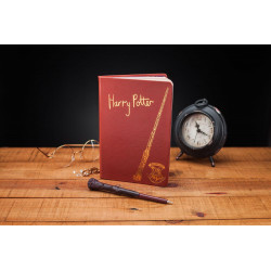 NOTEBOOK AND WAND PEN HARRY POTTER WIZARDING WORLD