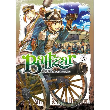 BALTZAR, LA GUERRE DANS LE SANG - TOME 3