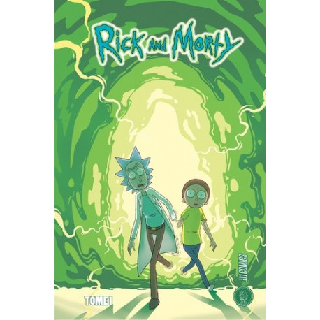 PACK RICK & MORTY T1 + T2