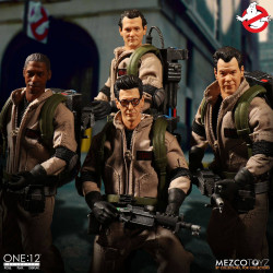 GHOSTBUSTERS ONE:12 4 PACK ACTION FIGURE SOS FANTOMES FIGURINES 1/12 DELUXE BOX SET 17 CM