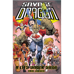 SAVAGE DRAGON CITY UNDER SIEGE TP