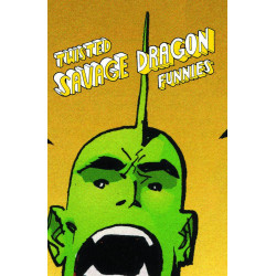 TWISTED SAVAGE DRAGON FUNNIES TP