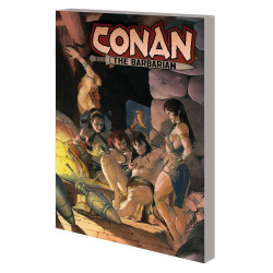 CONAN THE BARBARIAN TP VOL 2 LIFE AND DEATH OF CONAN BOOK TWO
