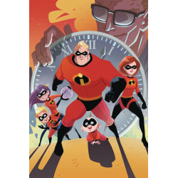 DISNEY PIXAR INCREDIBLES 2 SLOW BURN 1 CVR B KAWAII STUDIO