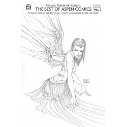 TURNER ART EDITION BEST OF ASPEN COMICS VOL 1 RETAILER CVR