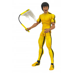 BRUCE LEE SELECT FIGURINE YELLOW JUMPSUIT 18 CM