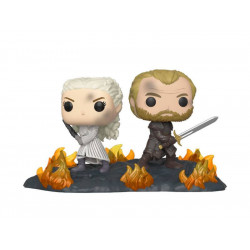 DAENERYS AND JORAH GAME OF THRONES PACK 2 POP MOMENT! VINYL FIGURE
