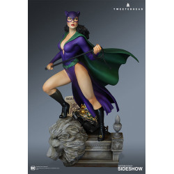 CATWOMAN DC COMICS SUPER POWERS COLLECTION SIDESHOW STATUE