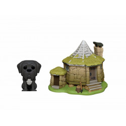 HAGRID'S HUT & FANG HARRY POTTER POP! TOWN VINYL FIGURE