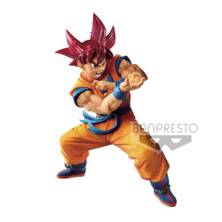 SON GOKU SSG BLOOD OF SAIYANS DRAGONBALL SUPER PVC STATUE