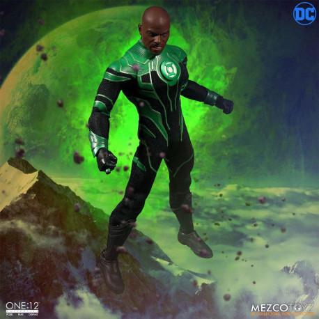 JOHN STEWART ONE:12 GREEN LANTERN DC COMICS ACTION FIGURE