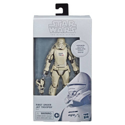 FIRST ORDER JET TROOPER CARBONIZED STAR WARS EPIDODE IX ACTION FIGURE