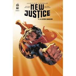DC REBIRTH - NEW JUSTICE TOME 4