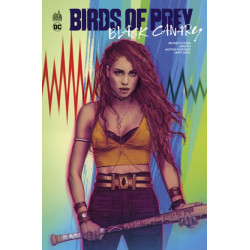 DC DELUXE - BIRDS OF PREY - BLACK CANARY