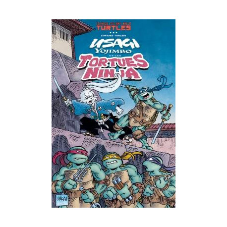 USAGI YOJIMBO COMICS - TORTUES NINJA