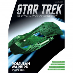 ROMULAN WARBIRD STAR TREK STARSHIPS COLLECTION SPECIAL ISSUE 16