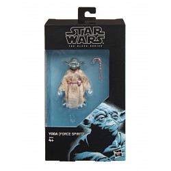 YODA FORCE GHOST STAR WARS BLACK SERIES ACTION FIGURE