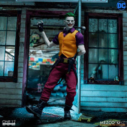THE JOKER CLOWN PRINCE OF CRIME 1/12 DC COMICS ACTION FIGURE