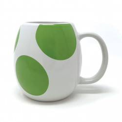 YOSHI EGG SUPER MARIO SHAPED 3D MUG