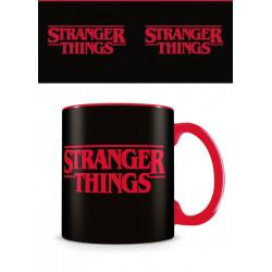 STRANGER THINGS LOGO MUG
