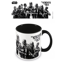 KNIGHTS OF REN STAR WARS EPISODE IX COLOURED INNER MUG
